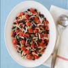 Jicama, Black Bean and Tomato Salad