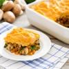 Curry, Mushroom & Lentil Shepherd's Pie