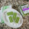 Romaine and Tropical Melon Ice Pops