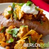 Taco Stuffed Sweet Baked Potato