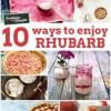 10 Way to Enjoy Rhubarb This Spring