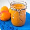 Raw Refrigerator Apricot Jam with Chia Seeds