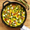 Asparagus, Prosciutto, and Goat Cheese Frittata