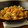 Sweet Potato Gnocchi with Pecan Cream Sauce