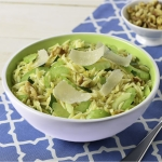 Celery and Parmesan Orzo