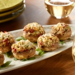 Tuscan Stuffed Ontario Mushrooms