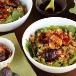 Balsamic Honey Grilled Fig Quinoa Bowl