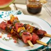 Pork and Watermelon Kebabs