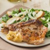 Honey-Glazed Pork Chops with Pear Chutney & Pear Fennel Salad