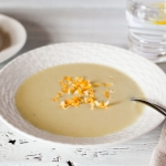 Roasted Garlic, Onion and Potato soup