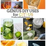 GENIUS DIY Uses for Citrus