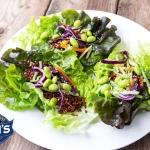Vegan Quinoa Lettuce Cups