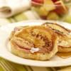 Ontario Peach Ricotta Pancakes