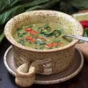Thai-Inspired Collard and Green Lentil Soup