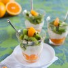 Chilean Orange Kiwi Tapioca Parfait