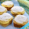 Ontario Pear Muffins with Maple Icing