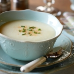 Ontario Pear and Parsnip Soup