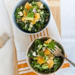 Warm Quinoa Kale & Orange Salad