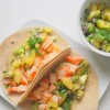 Shrimp Tacos with SunGold Kiwi Salsa