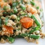 Green Bean & Squash Quinoa Bowl