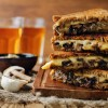 Gouda Grilled Cheese with Sautéed Ontario Mushrooms