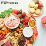 Strawberry Charcuterie Board