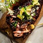 Blueberry Teriyaki Salmon