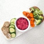 Veggie Dips Four Ways