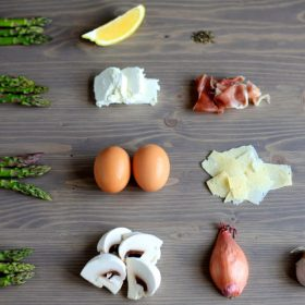 Ingredients that asparagus goes well with