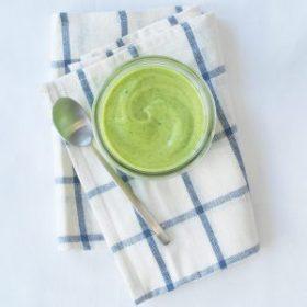 Zesty Avocado Salad Dressing