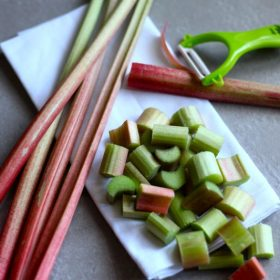 How To Prepare Rhubarb