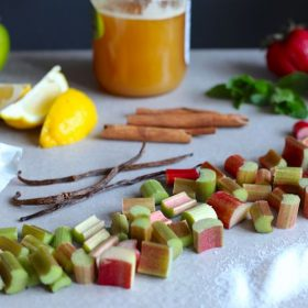 What Goes Well With Rhubarb?