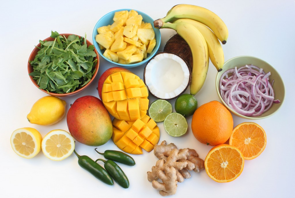 What goes well with mangoes