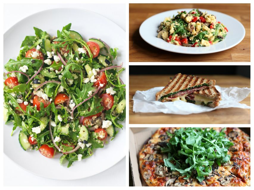 different ways to use arugula