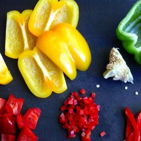 how to prepare bell peppers
