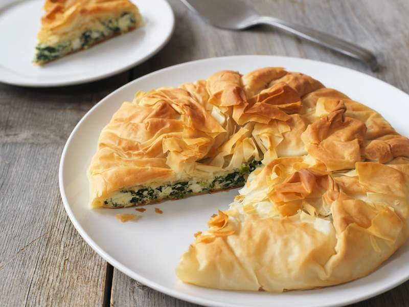 Spinach Ricotta Pie - Produce Made Simple