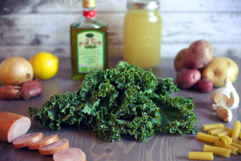 what does kale go well with?