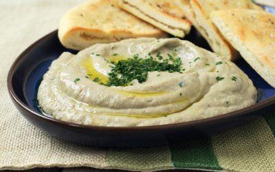 Eggplant Dip (Baba Ganoush)
