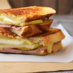 Grilled Cheese with Pear and Ham on Produce Made Simple