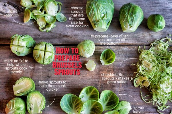 how to prepare brussels sprouts