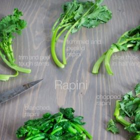different ways to prepare rapini