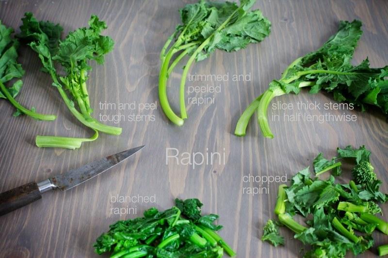 different ways to prepare rapini