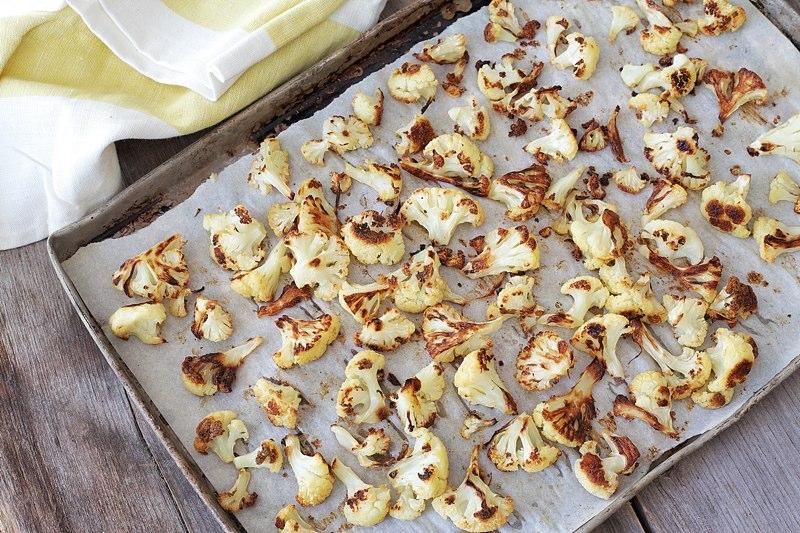 basic roasted cauliflower recipe