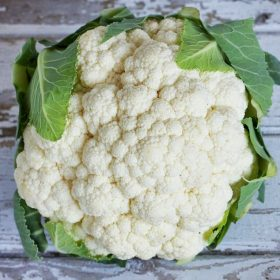 how to select and store cauliflower