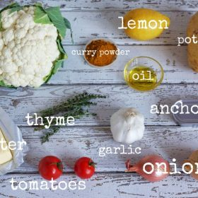 ingredients that go well with cauliflower