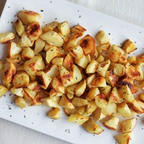 Roasted Parsnips with Rosemary
