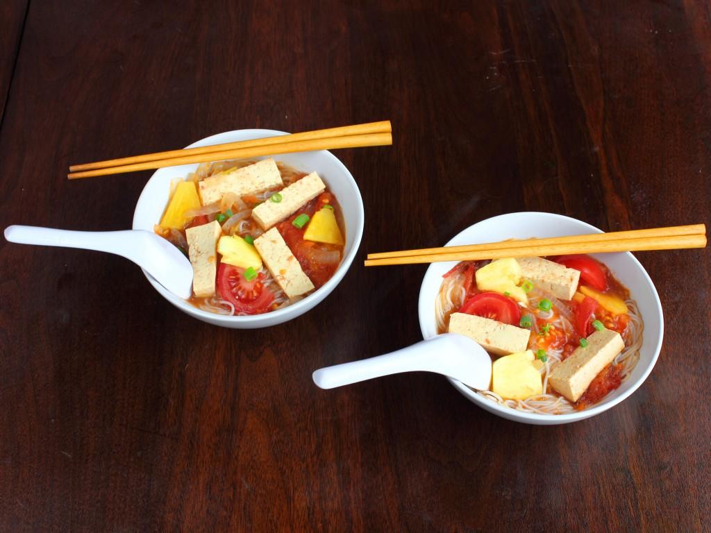 Pineapple tamarind soup