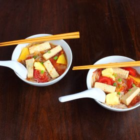 Vietnamese Tamarind Pineapple Soup – Canh Chua