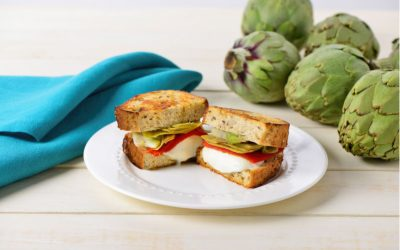 Artichoke Grilled Cheese