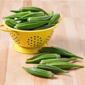 How to Select and Store Okra